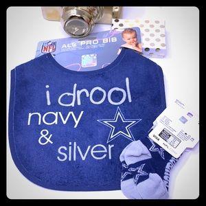 Dallas Cowboy Baby Set Licensed NFL